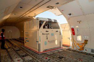 """Emirates SkyCargo transporta el primer grupo de caballos para los Juegos Ecuestres Mundiales de FEI """"Tyron 2018"""""""