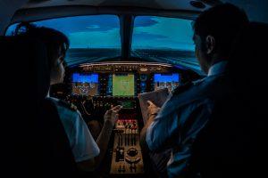 El simulador en-1000 de European Flyers consigue la certificación FNPT II