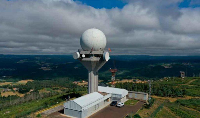 Enaire, radar, A Coruña