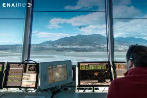 Centro de control de ENAIRE en Málaga