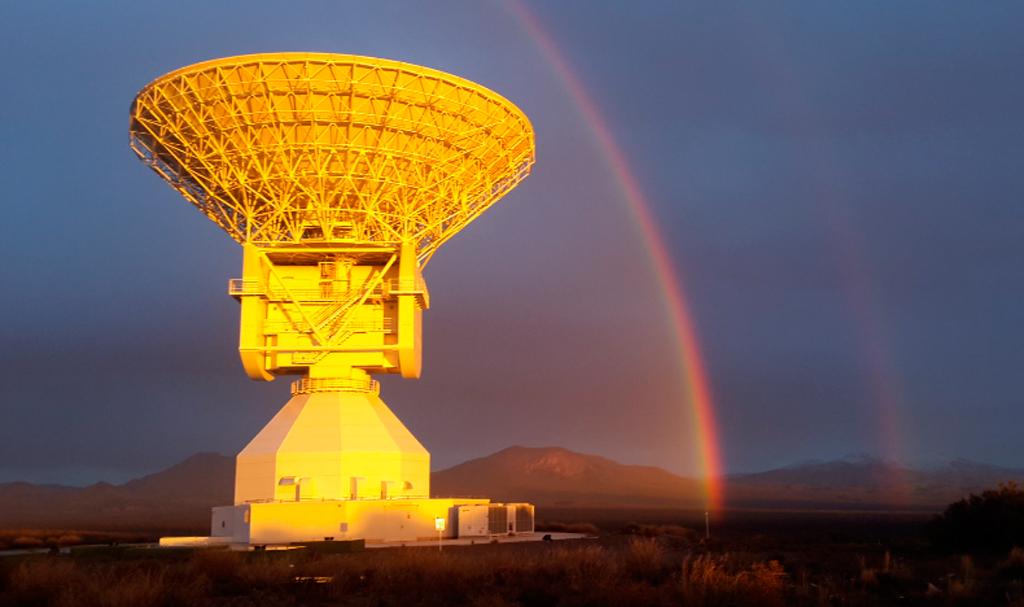 Estación terrestre de la ESA en Malargüe (Argentina)