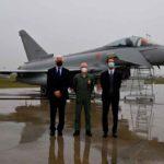 Italia recibe su Eurofighter Typhoon más avanzado