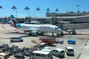 Eurowings inaugura su base en Palma de Mallorca
