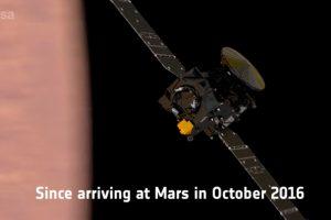 ExoMars finaliza la fase de aerofrenado