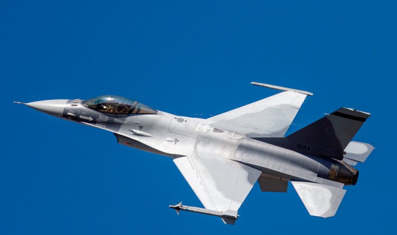 F-16AM del primer lote vendido a RoAF antes de la entrega en 2016