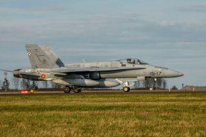 F-18, Ala 15, Lituania, BAP