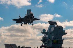Los F-35 de la Royal Navy se despliegan por primera vez en el extranjero