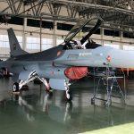 La Fuerza Aérea Portuguesa recibe el primer F-16 modernizado por OGMA