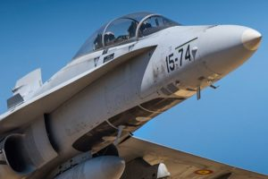 F18, Ala 15, OTAN, BAP, Fuerza Aérea Española