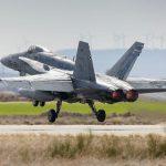 30 años del primer servicio de alarma de los F-18 del Ejército del Aire español