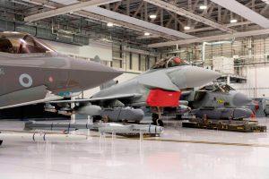 El Secretario de Defensa británico presume de sus F-35