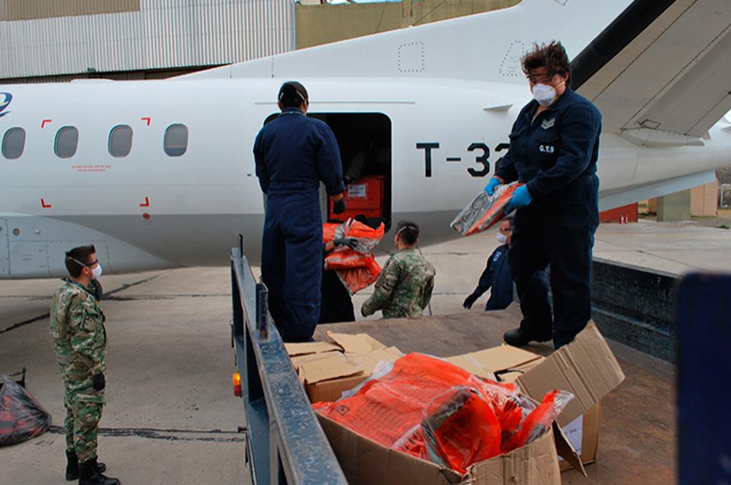 Fuerza Aérea Argentina, SAAB, Transporte humanitario