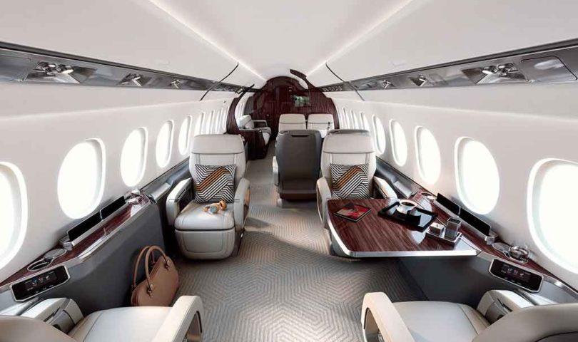 Interior, Falcon 6X