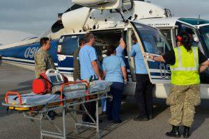 La Fuerza Aérea Uruguaya realiza un traslado sanitario desde Río Negro