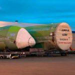 Las secciones del último A380 llegan a Toulouse para su ensamblaje