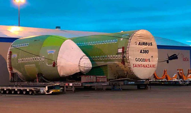 Fuselaje, A380
