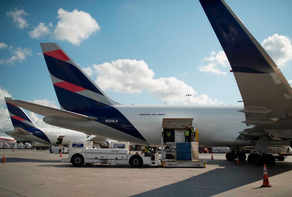 GRU Airport,Guarulhos, LATAM Cargo