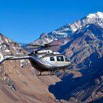 El nuevo H145 de Airbus Helicopters aterriza en el Aconcagua