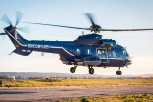 La policía alemana recibe tres helicópteros Super Puma