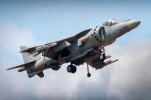 El Harrier de la Armada Española participará del Air Tatoo 2019