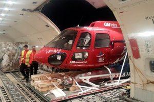 Emirates SkyCargo transporta por primera vez un helicóptero desde España