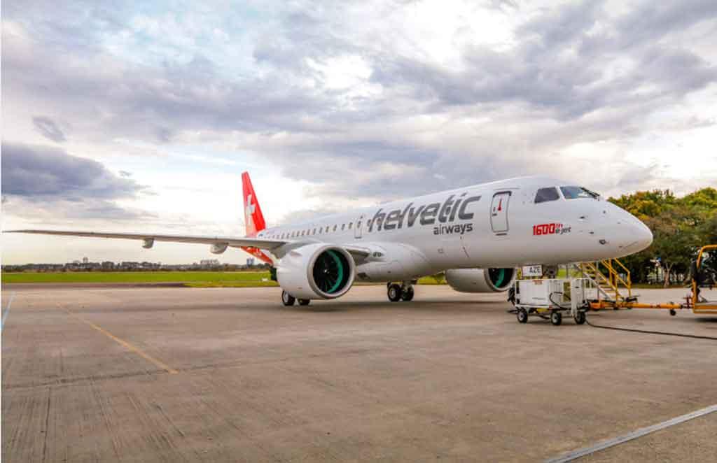 E190 E2, Helvetic, Embraer, E-jets