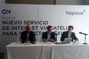 DISH e HISPASAT se unen para conectar México con ON, un nuevo servicio de acceso a Internet vía satélite de alta calidad