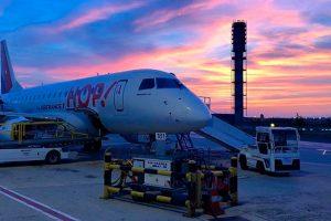 HOP! ampliará su flota con siete Embraer 190