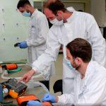 IAI utiliza una linea de producción de misiles para construir respiradores