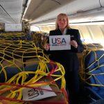 Iberia transporta carga sanitaria a EEUU y América Latina