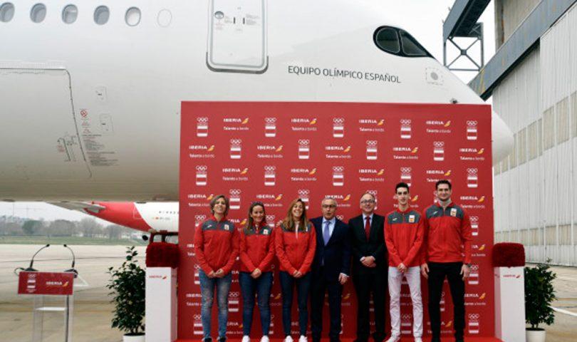 A350, Iberia, COE, Equipo Olímpico