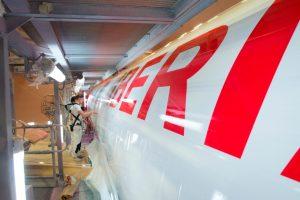 El primer A320neo de Iberia ya tiene sus colores