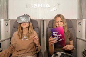 Iberia incorpora la realidad virtual en sus vuelos