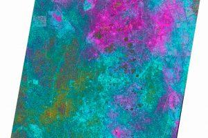 Primer Interferograma de la constelación radar TerraSAR-X/PAZ-Hisdesat/Airbus