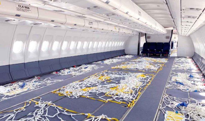 Wamos, interior, carga aérea
