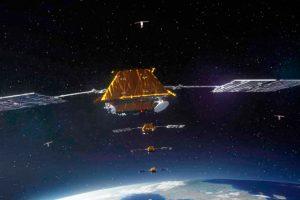 La Constelación Iridium NEXT cuenta con 55 satélites de comunicaciones en órbita
