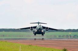 Vuelo inaugural del KC-390 de producción