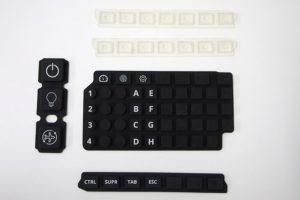 Grabysur lanza Keypad en silicona y retroiluminado