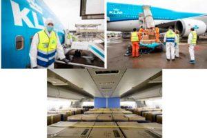 KLM, carga