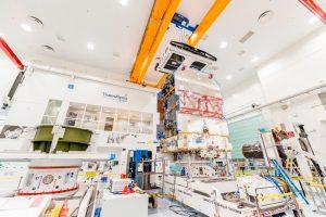 El satélite KONNECT de Eutelsat ha sido ensamblado con éxito