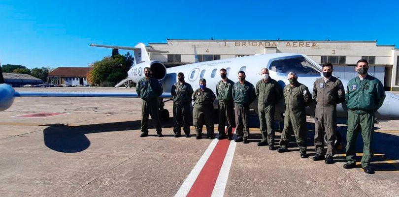Furza Aérea Argentina, Learjet medicalizado, Learjet-35