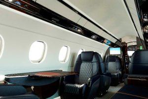Embraer presenta los nuevos asientos para los jets ejecutivos Legacy 450 y Legacy 500