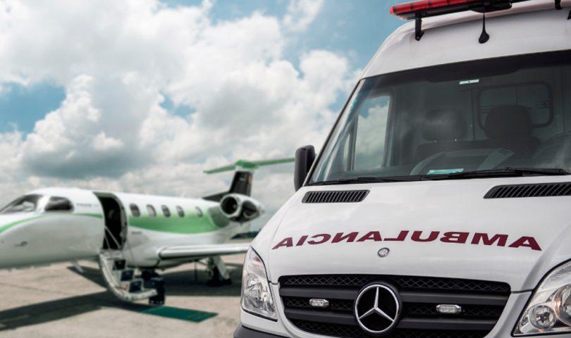 Líder Aviação, vuelo sanitario
