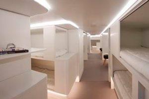 Airbus y Zodiac Aerospace se asocian para nuevas instalaciones de descanso para los pasajeros en la cubierta inferior