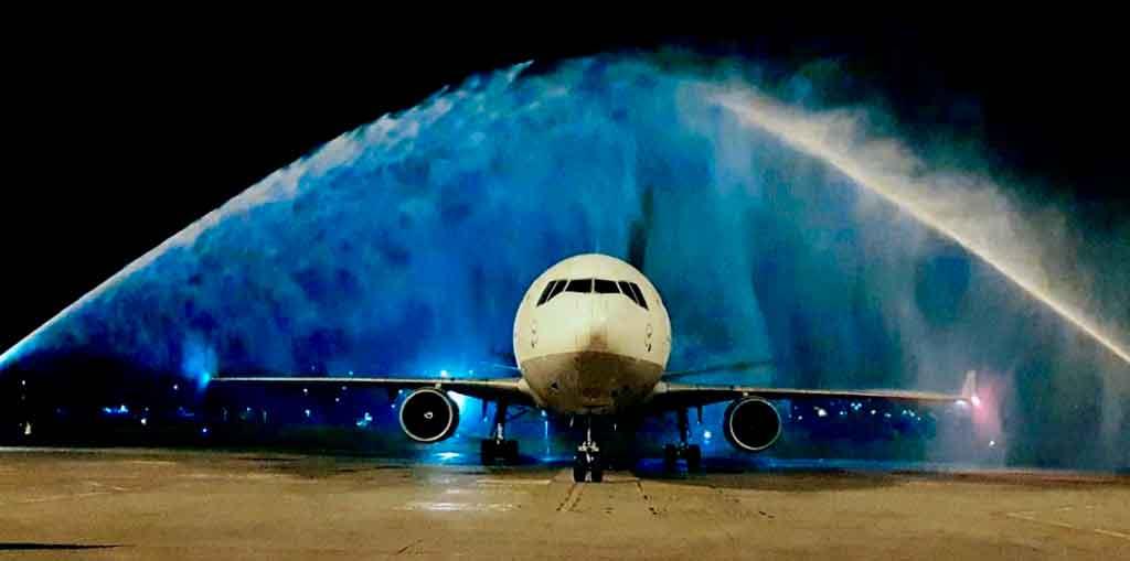 Vuelo inaugural, Lufthansa Cargo