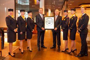 Lufthansa, primera aerolínea europea '5 estrellas' según Skytrax