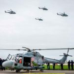 La marina francesa retira los helicópteros Lynx