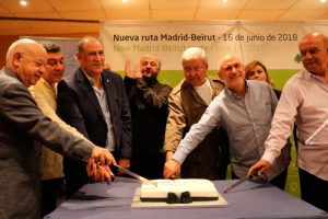 Barajas estrena vuelo directo de Middle East Airlines con Beirut