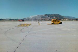 Historia: Centenario del vuelo que dio la ubicación al Aeropuerto de Málaga