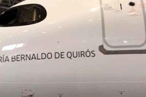 A320neo, Iberia, Maria Bernaldo